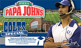 Papa Johns Colts Ad